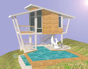 3D cottage HOME at WEEKEND