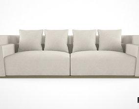 3D Fendi Casa Borromini sofa