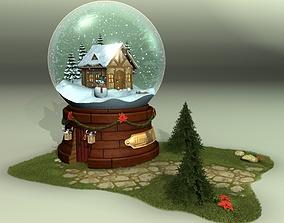 3D model Glass Snow Ball