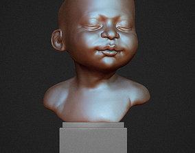 Sleeping baby 3D print model