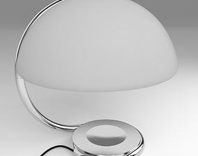 60 s lamp 3D model