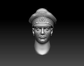 3D print model head 4