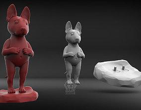 figurines Bull Terrier 3D print model
