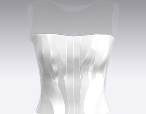 3D model blouse BLOUSE KORSET