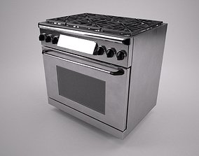 3D 36 inch gas range cooker