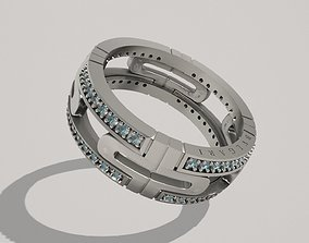 Ring Bvlgary Bulgary 3D print model