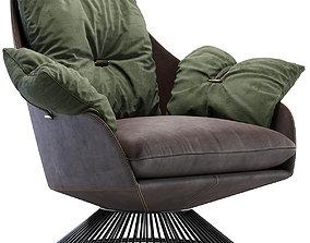 3D model Armchair GLOSS