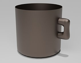 3D model rigged Coffee cup