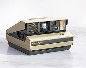 3D An old polaroid camera