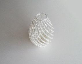 house 3D printable model String Vase