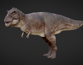 3D model rigged realtime T-Rex