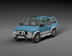 3D asset Nissan Terrano