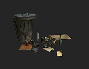 Garbage and Trash 3D model