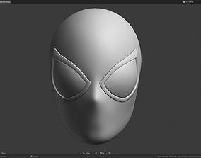 3D printable model The Amazing Spider-Man Faceshell