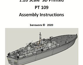 PT 109 Radio Controlled Model Boat Assembly Instructions