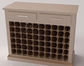 3D private Wine Cabinet