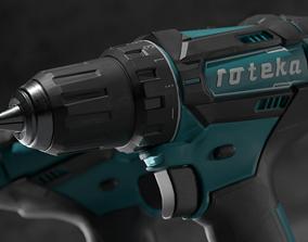 3D asset Cordless Drill
