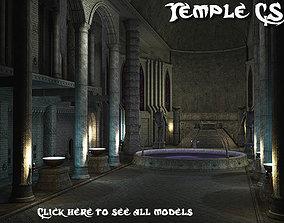 3D asset Temple CS