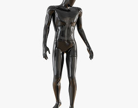Abstract male mannequin 15 3D model