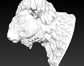 3D print model Bison Buffalo Head Sculpture