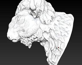 3D print model Bison Buffalo Head Sculpture