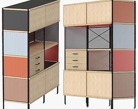 3D model Eames Storage Unit ESU Bookcase