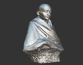 Gandhi by Claire Sheridan 3DP
