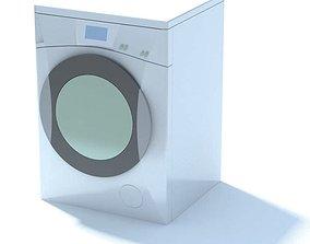 High Tech Clothes Dryer 3D model