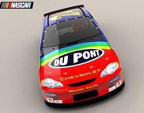 3D model NASCAR 4 2005