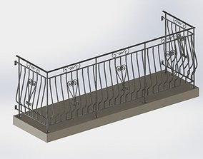 3D Gurdrail at Balcony