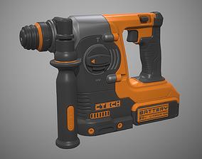 Rotary Hammer Drill 3D model