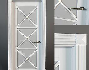 interior 3D model door 1