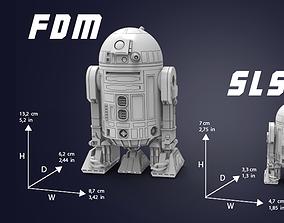 R2 D2 3D printable model