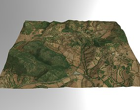 Valley Farming in Southern Spain 3D