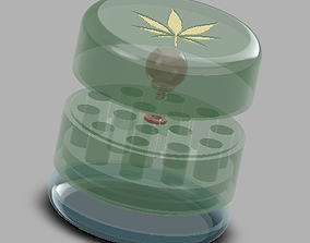 Decorative Joint Holder with lift tray Pot 3D print model