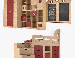 Furniture For Children Room 3D