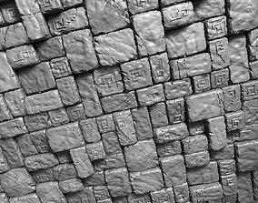 3 Tileable Stone Floor Tiles 3D model