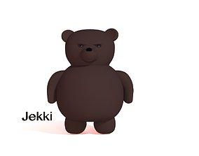 Bear cartoons 3D asset