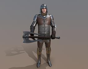 TAB Medieval Knight - 7C - Skin2 3D asset