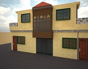 South Asian Styled House 3D asset