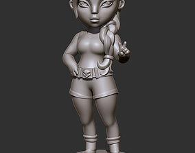 character 3D model Lara Croft