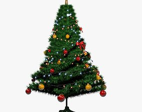 lights Christmas Tree 3D model