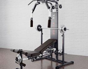 Gym equipment 02 am169 3D model