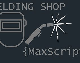 Welding Shop Maxscript 3D