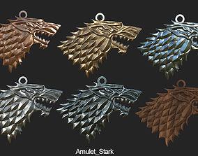 3D printable model Game Of Throne Stark Amulet