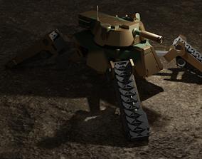3D print model CRAB tank