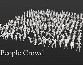 275 People Crowd Pack 3D