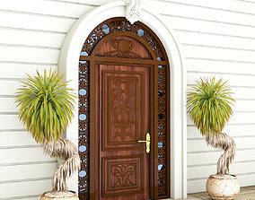 Classic Door Exterior Design Sadiq 3D model