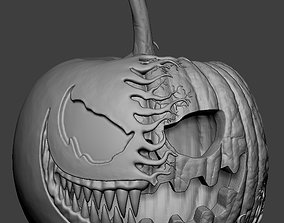 3D printable model Venom Pumpkin Holloween