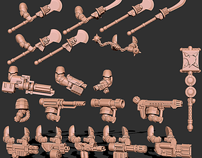 Tempest Warriors - Weapons and Upgrade 3D printable model